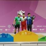 México gana medalla de plata en halterofilia en Universiada Mundial de Taipei